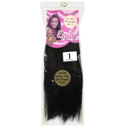Envy Hair Collection Silky Straight Weave Hair Extension, 1 Jet Black