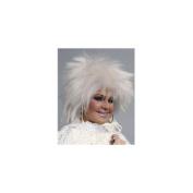 Alicia International 00033 WHT FRIGHT WIG Wig
