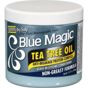 Blue Magic Tea Tree Oil Leave-In Styling Hair Conditioner, 410ml