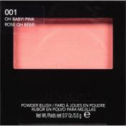 Revlon Powder Blush, 001 Oh Baby! Pink, 5ml