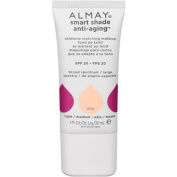 Almay Smart Shade Anti-Ageing Skintone Matching Makeup, 200 Light/Medium, 30ml