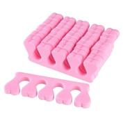 INSTEN 30X Soft Sponge Foam Finger Toe Separator Nail Art Salon Pedicure Manicure Tool New