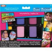 POOF-Slinky 80107BL Ideal Be Anything Fairy Butterfly Face Painting Kit 8-Colour Set