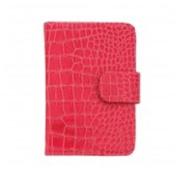 Danielle D794 Large Animal Print - Pink Croc