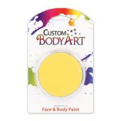 Custom Body Art 18ml Light Yellow FACE PAINT Painting Makeup Parties Halloween