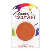 Custom Body Art 18ml Burnt Orange FACE PAINT Painting Makeup Parties Halloween
