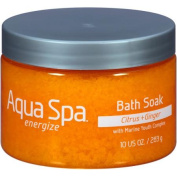Aqua Spa Citrus + Ginger Energise Bath Soak, 300ml