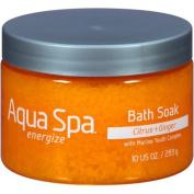 Aqua Spa Citrus + Ginger Energise Bath Soak, 300ml