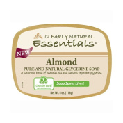 Clearly Natural 1279629 Glycerin Bar Soap Almond 120ml