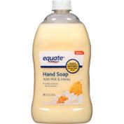 Equate Liquid Hand Soap with Milk & Honey Refill, 1660ml