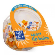 Kiss My Face 693846 Lip Balm Sport Display Case Spf 30 Case Of 75 .440ml