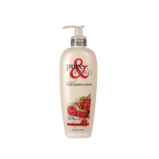 Pure and Basic 103523 Natural Bath And Body Lotion Cherry Almond 350ml