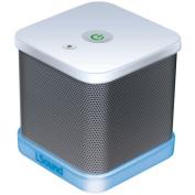 iSound ISOUND-6204 iGlowSound Cube Wired Portable Speaker, White