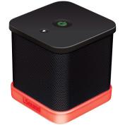 iSound ISOUND-6205 iGlowSound Cube Wired Portable Speaker, Black