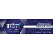 Crest 3D White Luxe Lustrous Shine Brilliant Mint Fluoride Anticavity Toothpaste, 160ml
