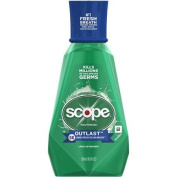 Scope Outlast Long Lasting Mint Flavour Mouthwash, 500ml