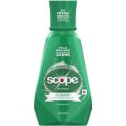 Scope Classic Original Mint Flavour Mouthwash, 500ml