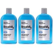 BreathRx DIS364-3 Anti-Bacterial Mouth Rinse - 470ml