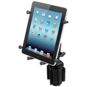 Ram Mounts RAM-A-CAN II Universal Cup Holder Mount for Large Tablets