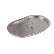 G.I. Type Stainless Steel Canteen Cup Lid, Fits Military Canteen Cup