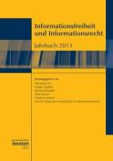 Informationsfreiheit Und Informationsrecht Jahrbuch 2013