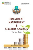 Investment Management & Security Analysis Text and Cases