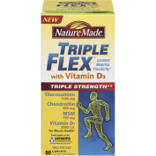 Nature Made Triple Flex Glucosamine Chondroitin With Vitamin D, 80ct