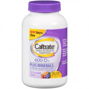 Caltrate 600+D3 Plus Minerals Calcium & Vitamin D3 Supplement