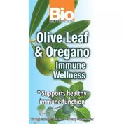 Bio Nutrition 1182849 Immune Wellness Olive Leaf And Oregano 60 Vcaps