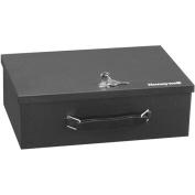 Honeywell 0cbm Fire-Resistant Steel Security Box, Black