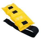 the Cuff 10-2511 Deluxe Ankle and Wrist Weight 3.2kg. Lemon