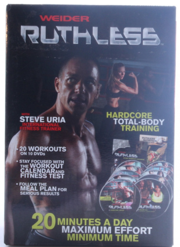 Weider ruthless dvd kit new free shipping ebay