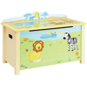 Guidecraft Savanna Smiles Toy Box, Green