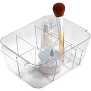 InterDesign Clarity Divided Cosmetic Organiser Bin