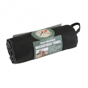 Rothco Black Microfiber Towel