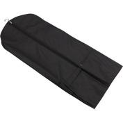 Black Garment Dress Bag with Shoulder Strap