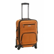 FOX LUGGAGE F2281-ORANGE PASADENA 48cm EXPANDABLE SPINNER CARRY ON - ORANGE