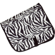 Zebra Print Hanging Cosmetic Travel Bag
