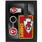 Aminco Sports 3-Piece Travel Fan Pack, Chiefs