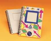 Paper Mache Notebook, Pack of 12