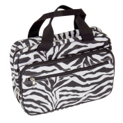 Household Essentials Double Sided Travel Kit Zebra Print