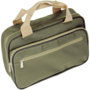 Olive Hanging Double-Sided Travel Kit