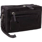 R & R Collections Leather Travel Kit