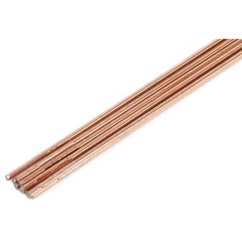 Forney copper coated brazing rod cm by