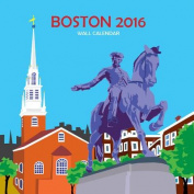Boston Wall Calendar