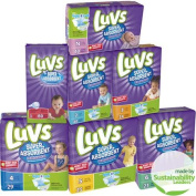 Luvs Super Absorbent Leakguards Nappies, Jumbo Pack