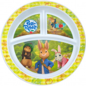 NUK Peter Rabbit Dinnerware Plate, BPA-Free