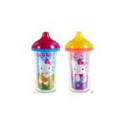 Munchkin Hello Kitty Click Lock 270ml Insulated Sippy Cup, 2 count