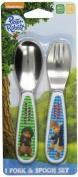NUK Peter Rabbit Fork & Spoon Utensil Set, BPA-Free