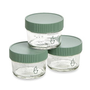 Sage Spoonfuls Glass Baby Food Mini Storage Pack, BPA-Free